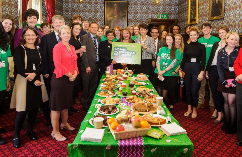 Philip at Macmillan Coffee Morning Event in Parliament