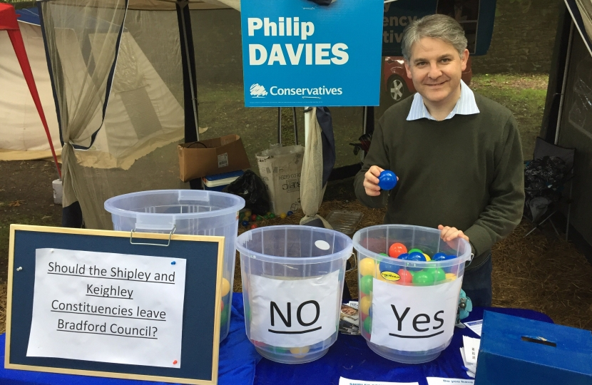 Philip at the Bingley Show 2017