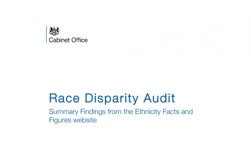 Race Disparity Audit