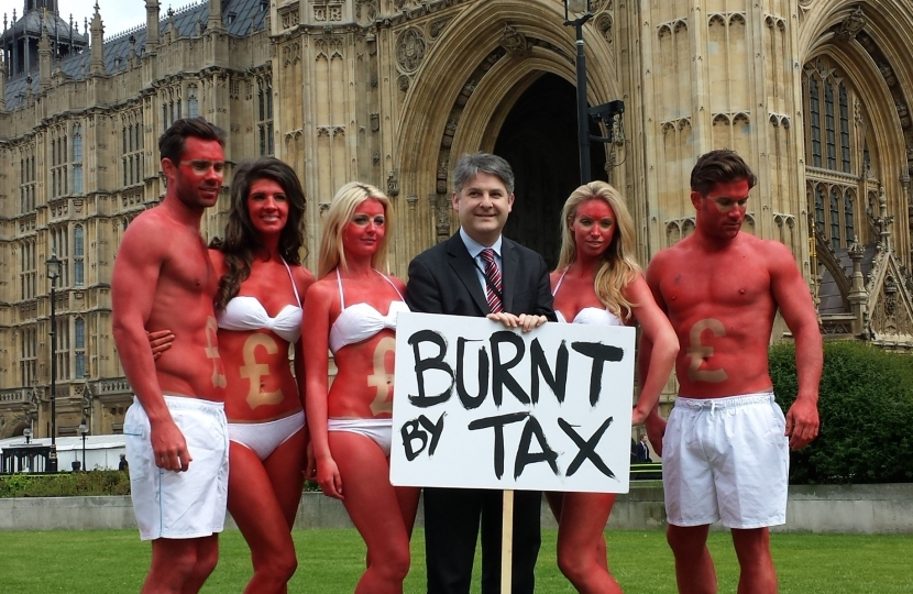 Campaign against tax on suncare products