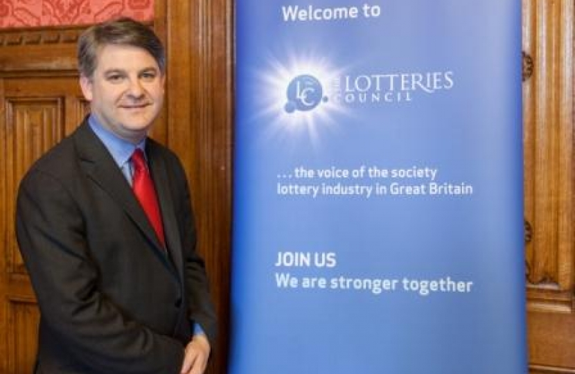 Philip at the Lotteries Council Round Table discussion in Parliament (24.02.14)