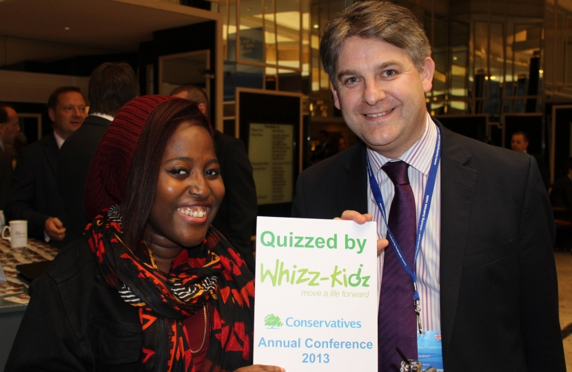 Philip at Whizz Kids Conference
