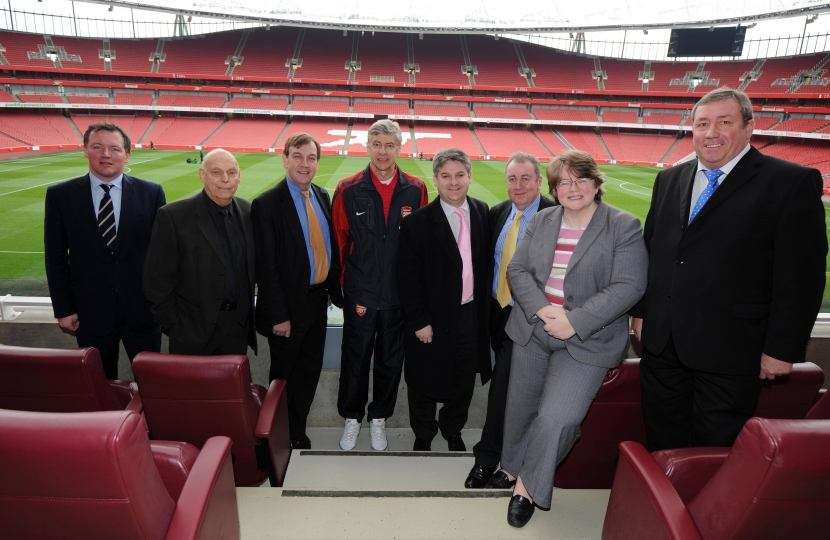 Philip with Culture Media Sports Select Committee