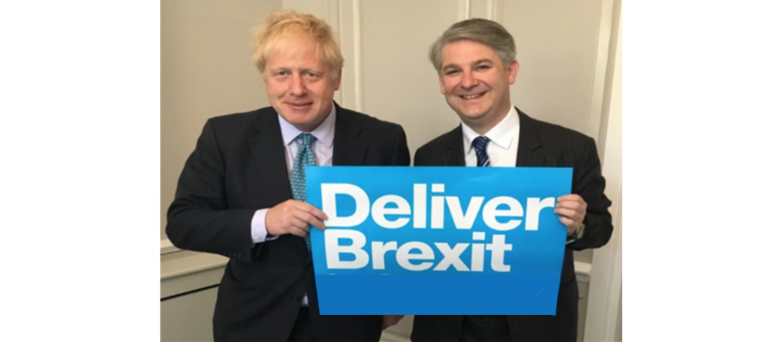 Philip Davies MP with the PM